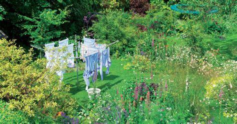 Wäschespinne Einbetonieren  Mein Schöner Garten
