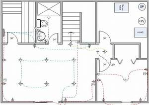 Basement Finish Wiring Diagram - Electrical