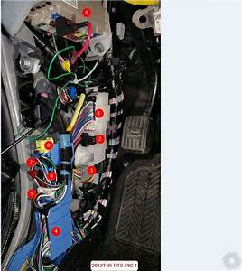 2012 Toyota 4runner Limited  Alarm Wiring
