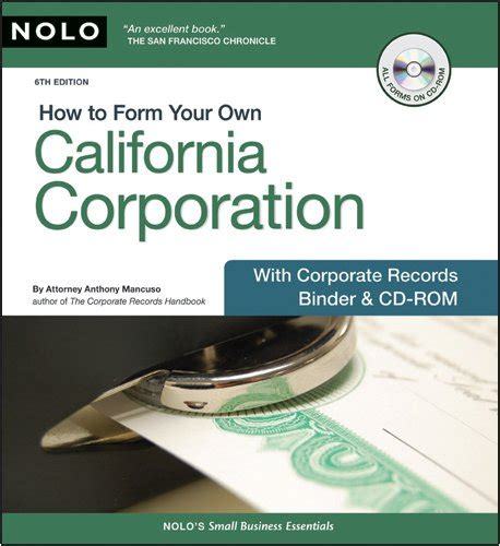 how to form your own california corporation pdf pdf epub download how to form your own california