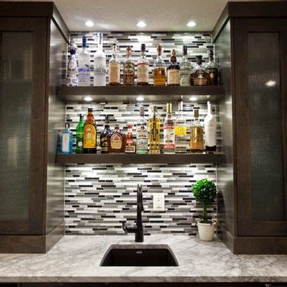 Home Bar Furniture Calgary by May Basement Renovation Contemporary Wine Cellar