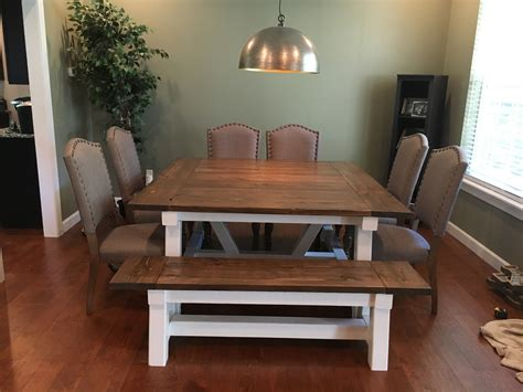 ana white square farmhouse table diy projects
