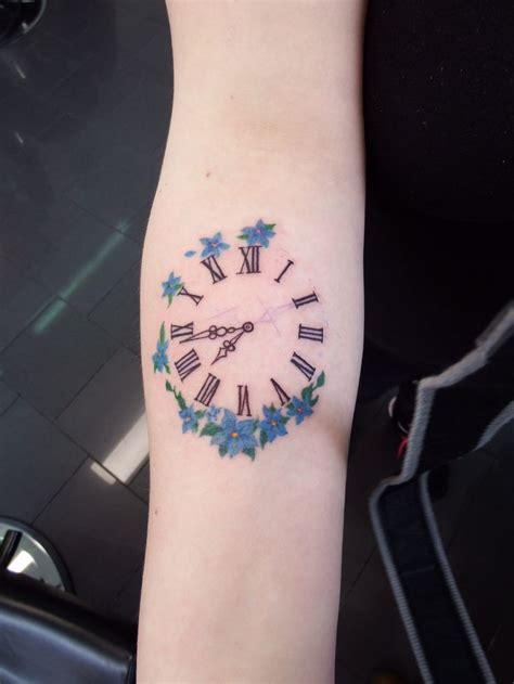 clock tattoos ideas  pinterest clock tattoo