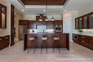 Modern, Kitchen, Open, To, Dining, And, Great, Room, L, The