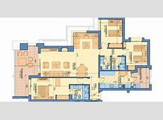 Plan Appartement type A 3 chambres Prestigia Luxury