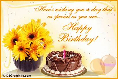 Birthday Wishes Greetings Card Lovely Warm Cards