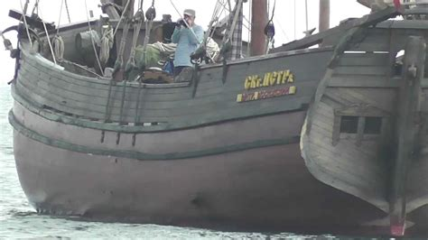 Old Wooden Boat Video by Wooden Sailing Boat Of A Very Old Design Youtube