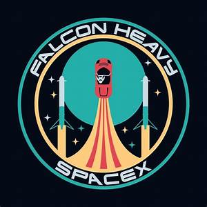 Falcon Heavy SpaceX | carlhuber's Artist Shop