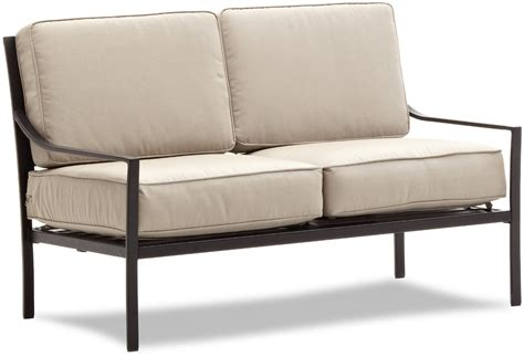 small outdoor loveseat modern patio furniture that will cheer up your patio design