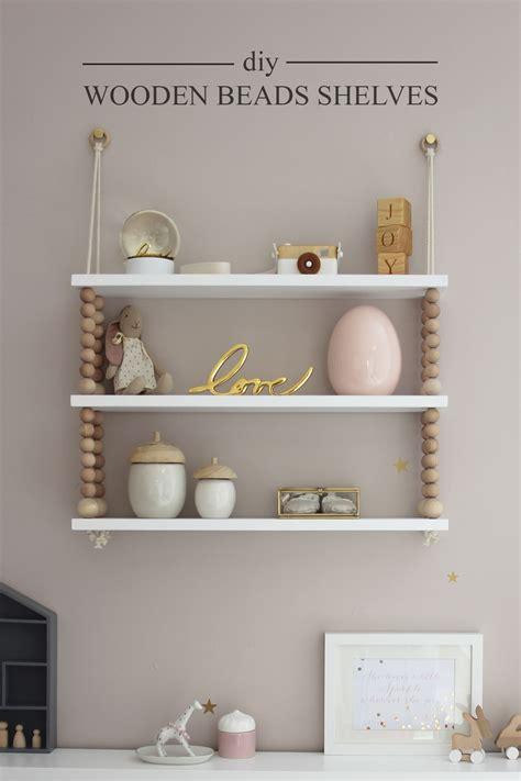 Diy Wooden Beads Shelves Preciously Me