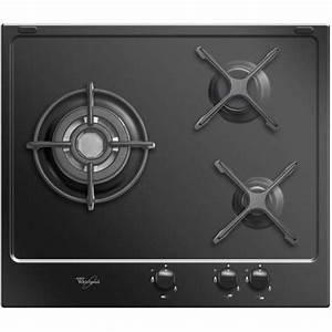 Dimension Plaque De Cuisson : table de cuisson 3 feux gaz whirlpool akt653nb privadis ~ Dailycaller-alerts.com Idées de Décoration