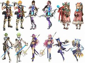 Star Ocean The Last Hope Characters List