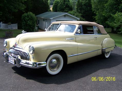 Buick Sales by 1948 Buick Convertible For Sale