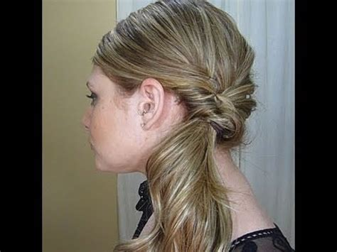 Fancy Side Ponytail Hairstyles by Fancy Side Ponytail Hairstyles Curled Side