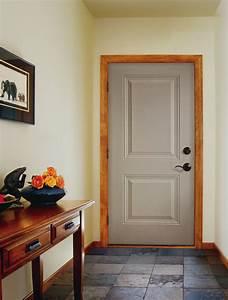 jeld wen two panel steel exterior doors remodeling
