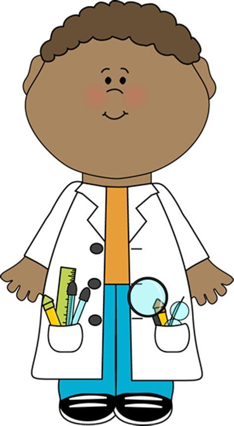 Scientist Clipart Child Scientist Clip Child Scientist Vector Image