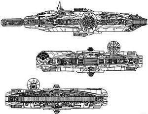 Star Wars Millennium Falcon Blueprints