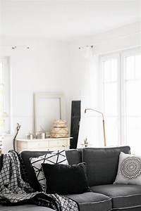 Schwarz Weiß Wohnzimmer : deko donnerstag und unser neues wohnzimmer wohlf hloase wohnzimmer livingroom ~ Orissabook.com Haus und Dekorationen