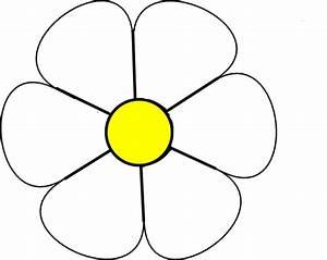 White Daisy 1 Clip Art at Clker.com - vector clip art ...