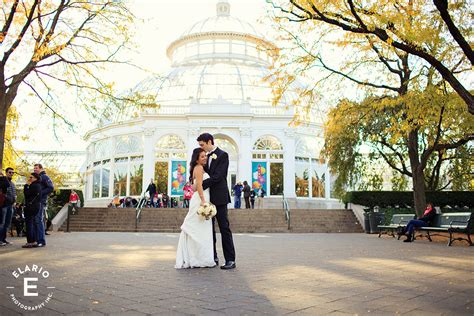new york botanical garden wedding photos emily