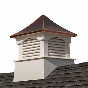 good directions coventry 36 in x 49 in vinyl cupola with With copper cupola tops