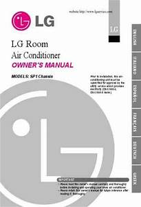 Lg A07ahb Air Conditioner Download Manual For Free Now