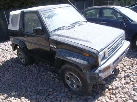 Daihatsu Dealers Usa by Used Salvage Daihatsu Rocky 1 6l 4 1990 For Sale China