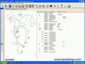 Scania 2013 Parts Catalog Service Manuals Download