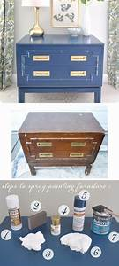 diy spray painting furniture full step by step With homemade furniture tutorials