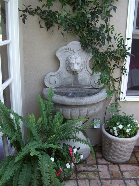 water fountain in home fountain design ideas