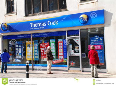 Thomas Cook Travel Agents, Hastings Editorial Image ...