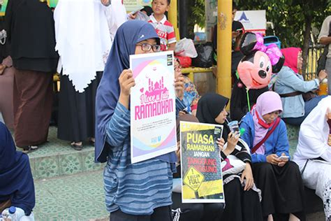 Obat Aborsi Di Surabaya Poster Dakwah Ramadhan 1 Ratusan Remaja Sambut Ramadhan