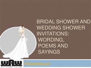 quotes for bridal shower invitations quotesgram With sayings for wedding shower