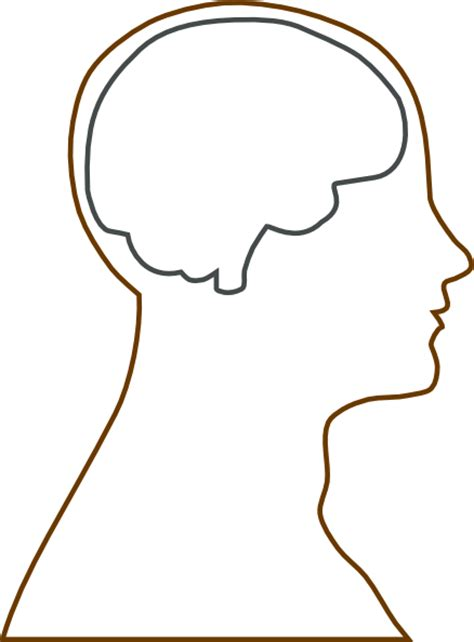 blank person outline   clip art