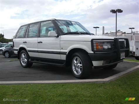 2002 Range Rover Hse by 2002 Chawton White Land Rover Range Rover 4 6 Hse