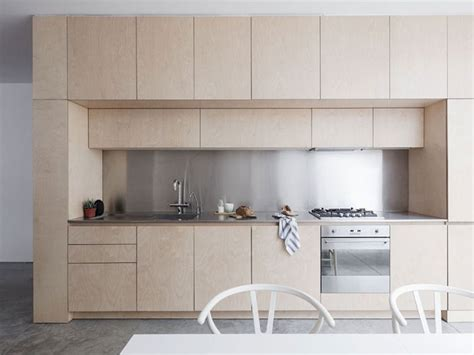 plywood kitchen design a light filled home with a beautiful plywood kitchen 1562
