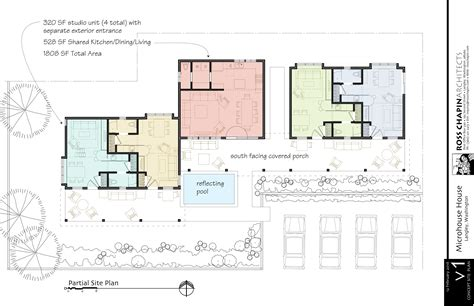 house plans website a 4 micro unit house ross chapin architects
