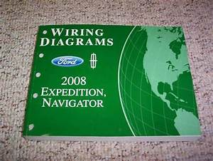 2008 Lincoln Navigator Electrical Wiring Diagram Manual L