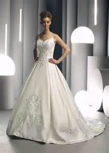 beautiful wedding gowns beautiful strapless wedding dress with embroidery ipunya