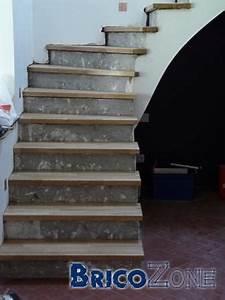 Recouvrir Escalier Béton : recouvrir un escalier b ton avec du bois ~ Premium-room.com Idées de Décoration