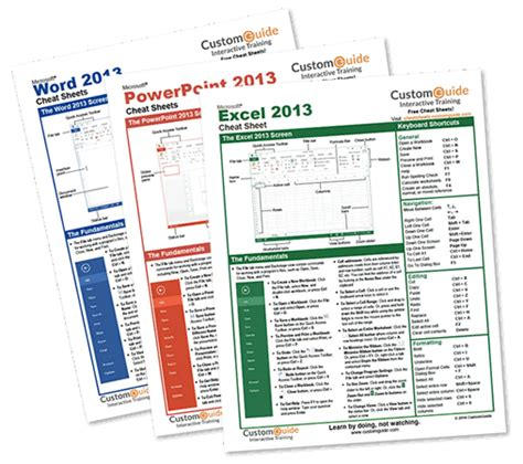 Office Cheats by Sheets 100 Free Printable Sheets Are Free