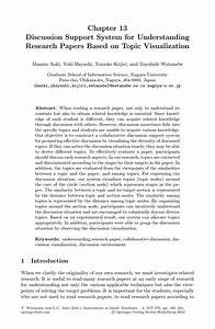 example of result and discussion in research paper