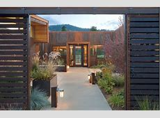 Rustic Wall Sconces Add Delightful Touch to Landscape