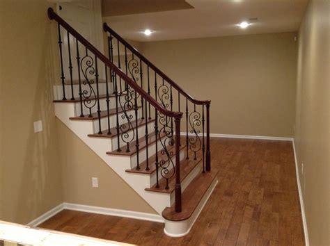 basement hardwood floors traditional basement kansas
