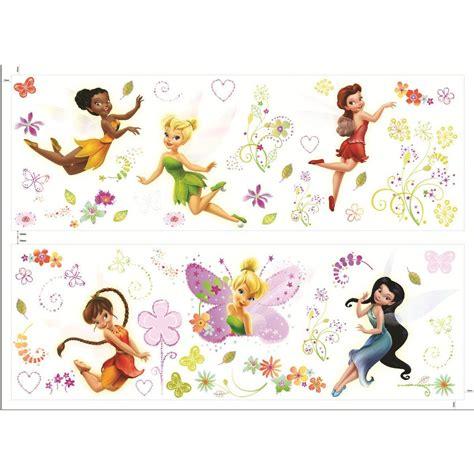 57 stickers f 233 e clochette fairies disney fairies f 233 e clochette d 233 coration murale decokids