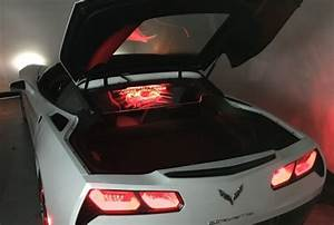 14  C7 Corvette Coupe Windrestrictor Glow Plate