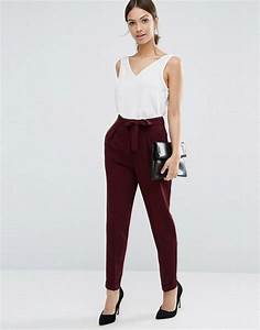 25+ best ideas about Peg leg trousers on Pinterest   Zoella style Street outfit and Trousers women
