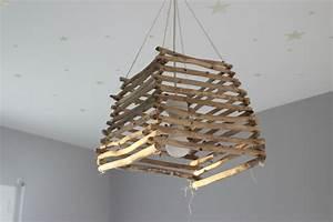 Lustre En Bois : lustre en bois flott creation en bois flott ~ Teatrodelosmanantiales.com Idées de Décoration