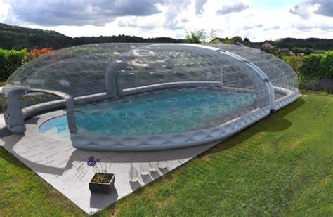 abris de piscine gonflable le havre design