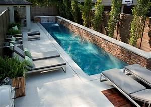 Kleiner Pool Für Terrasse : swimmingpool design 30 inspirierende ideen f r kleinere fl chen ~ Orissabook.com Haus und Dekorationen